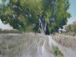 Lane Hall, Grandma's Place II, Oil on Linen, (Contact for Purchase)