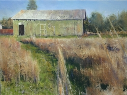 Lane Hall, The Pathway, Oil on Linen, (Contact for Purchase)
