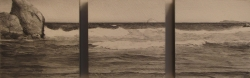 Lane Hall, Ocean Triptych, Mixed Media on Board (Sold)