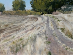 Lane Hall, Road to The Past II, Oil on Canvas (Sold)