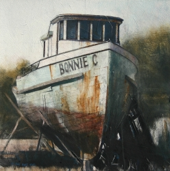 Lane Hall, Retired II, Water Media (Contact for Purchase)