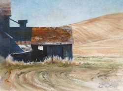 Lane-Hall-Solidude-9x12-watercolor-950-Contact-for-Purchase